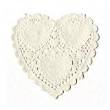 Artemio Napperon en papier petit fomat forme coeur
