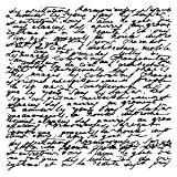 Artemio Tampon Bois 10x10 cm Manuscrit
