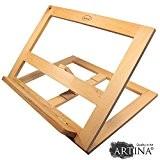 Artina - Malette Chevalet de table - Porte livre - planche à dessin - Clichy - 33,5x 26x24cm - en ...