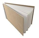 Artway Enviro (Recyclé) - Carnet de Croquis à spirales - A3 format Paysage, 70 pages de 170 gr - Papier ...