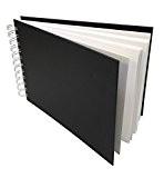 Artway Studio - Carnet à dessin avec reliure double spirale et couverture rigide - papier cartouche sans acide - 170 ...