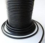 Auroris Cordon en cuir-10m-Rond Ø 3mm-Noir