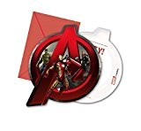 Avengers Age de Ultron Invitations, Lot de 6