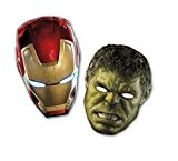 Avengers l'Ère d'Ultron Parti masques, Lot de 6
