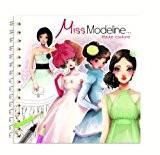 Avenue Mandarine MISS MODELINE - CAHIER DE COLORIAGE - HAUTE COUTURE