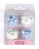Baby Bear Cake Decorations - Blue