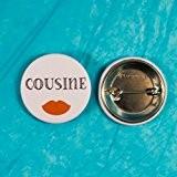 Badge mariage - Cousine