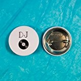 Badge mariage - DJ