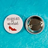 Badge mariage - Maman du marié