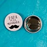 Badge mariage - Papa de la mariée