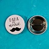 Badge mariage - Papa du marié