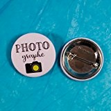 Badge mariage - Photographe