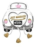 Ballon voiture mariés Just Married XL Non Gonflé