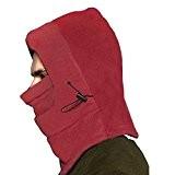 Bao Core Hiver Chaud Masque de Protection en Flanelle Cagoule de Ski Réglable Cache-Nez Oreille Tour de Cou Multi-Usage Coupe-Vent ...