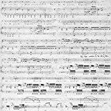 Bazzill Antique livre papier 12 « X 12 »-Sheet Music