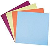 Bazzill assorties Paper Lot de 30,5cm x 30,5cm 100/Pkg 20couleurs/5chaque