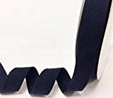 Bertie's 25mm Marine ruban adhésif en coton à chevrons/sur une longueur de 4m (Note?: Ceci est une coupe à partir ...