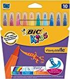 Bic Kids Visaquarelle Feutre à pointe extra souple Couleurs assorties