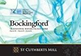 Bockingford Carnet à aquarelle 300g/m² Papier Pad 12feuilles format A4(avec 65% Extra Free)