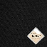 Breaker Teflon - Couleur: noir - coupe-vent, hydrofuge, tissu enduit - Polyester - Canvas - Vendu au Mètre