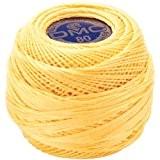 Brillant dentelle coton-jaune pâle