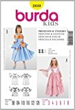 Burda B2410 Patron de Couture Princesse et Danseuse 19 x 13 cm