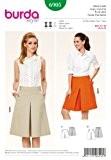 Burda B6905 Patron de Couture Jupe-Culotte 19 x 13 cm