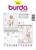 Burda B9635 Patron de Couture Accessoires Bébé 19 x 13 cm