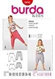 Burda Children's Patron de couture facile 9493-sarouel :  4-10 ans
