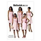 Butterick Patron de couture facile (6131-Femme-Robe bustier & DE CHASSIS