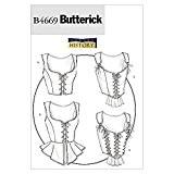 Butterick Patron de couture pour femme Déguisement historique 4669-Corsets
