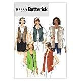 Butterick Patron de couture pour femmes - 5359-gilets &Tailles XS à M