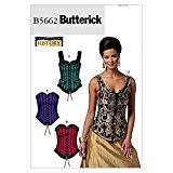 Butterick Patron de couture pour femmes 5662 historiques Corsets