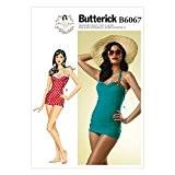 Butterick Patron de couture pour femmes 6067-Maillot de bain