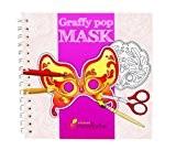 Cahier de coloriage Graffy Pop Mask, Venise