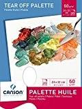 Canson Bloc Palette 200005787 Papier à dessin Blanc