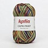 Capri Print Fil en coton de Katia dans coloré (65)