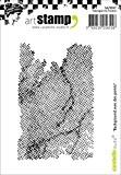 Carabelle Studio SA70097 A7 Tampon Motif Background with Points Caoutchouc Blanc/Transparent 10 x 8 x 0,5 cm