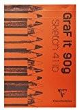Clairefontaine 96623C Bloc croquis coll 21 x 29,7 A4 80 Feuilles 90 g Coloris Assortis
