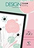 Clairefontaine Livre de coloriage étape par étape pour adultes, thème fleurs, 12 pages