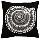 Collection D'Art 5142 Ammonite Kit de Coussin Gros Trous Coton Multicolore 50 x 45 x 0,1 cm