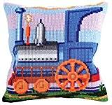 Collection D'Art 5177 Rêve de Vapeur Kit de Coussin Gros Trous Coton Multicolore 50 x 45 x 0,1 cm