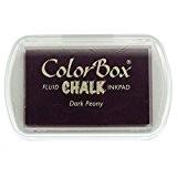 Color Box - Encreur tampon Chalk dark peony - Promo - 4.5 x 7 cm