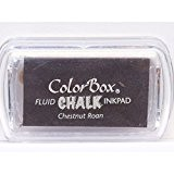 Color Box - Encreur tampon Chalk mini chesnut roan - 2.5 x 4.5 cm