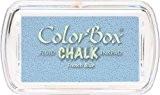 Color Box Encreur tampon Chalk mini french blue 2.5 x 4.5 cm