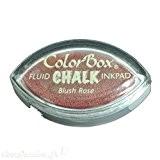 Color Box - Encreur tampon Chalk oeil de chat blush rose - 2 x 3.5 cm