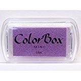 Color Box - Encreur tampon Color Box mini lilac - 2.5 x 4.5 cm