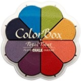 ColorBox Chalk liquide Petal Point Option tampon encreur 8 couleurs primaires Pastels
