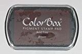 Colorbox - Tampon Encreur De Couleur Marron 70x45 mm
