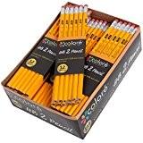 Colore # 2 Crayons avec des gommes à effacer - Haute Qualité en graphite HB / No 2 Crayon en ...